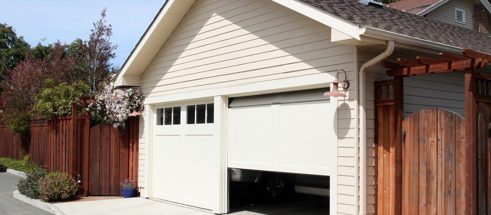 Garageportar dubbelgarage