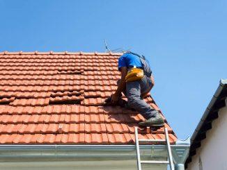 Takläggare på tak
