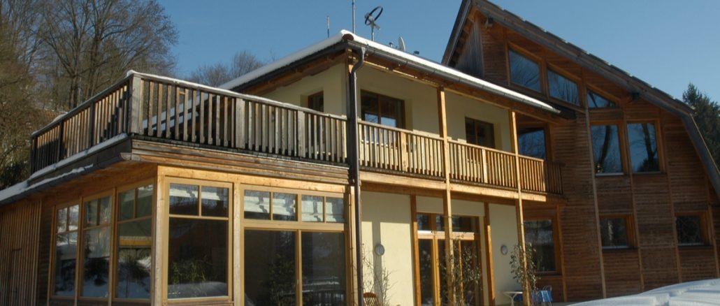 Hus byggt enligt standarden för passivhus